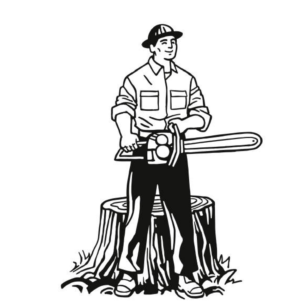 Logo Garten & Landschaftsbau +Baumfällungen Tobias Matthiesen