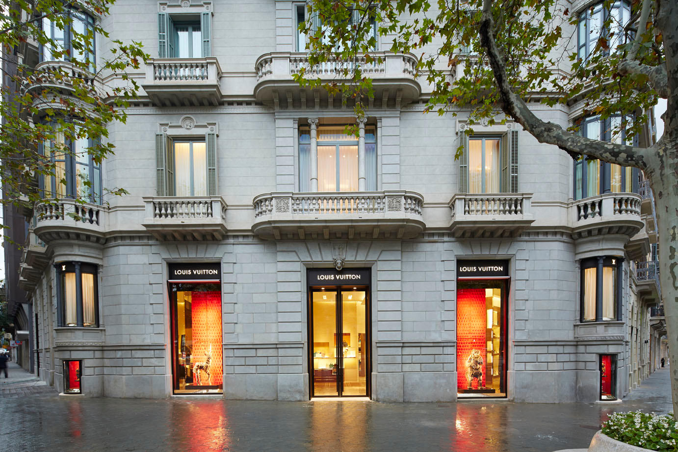 Louis Vuitton Barcelona Paseo De Gracia